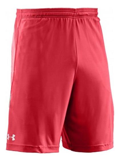 Bermuda Short Deportivo Under Armour Rojo Amv Sports