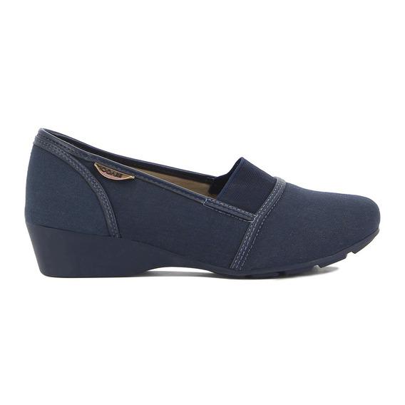Zapato De Dama Modare C/faja Elástica Taco Bajo
