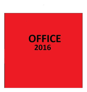 Programa Office Full 2016. Instalacion Remota . Garantia