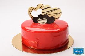 Torta Pasión De Chocolate Y Frambuesa 10 A 12 Porc. (8596)