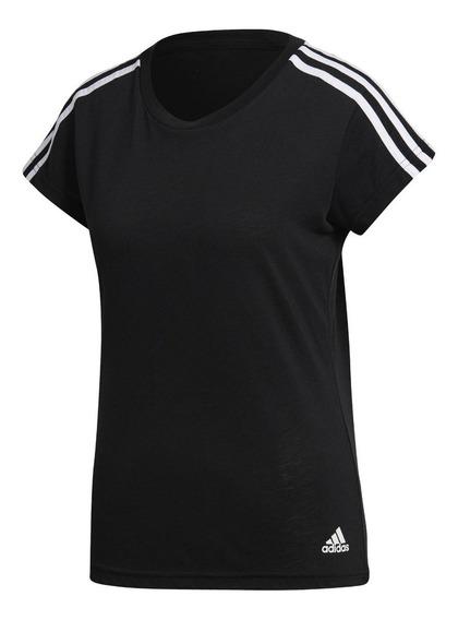 Camiseta adidas Remera Deportiva Running De Dama Mvd Sport