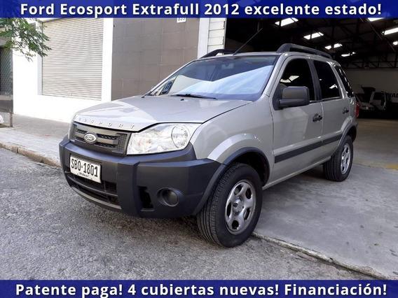 Ford Ecosport 2012 Único Dueño, Patente Paga 2019 Excelente!