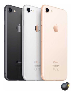 iPhone 8 64gb Libre + Case Apple Y Vidrio Templado