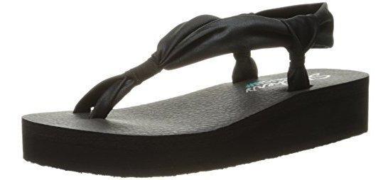Skechers Cali Womens Vinyasa Loopd Loop Wedge Sandal