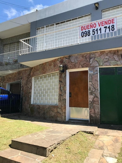 Casa 4 Dormitorios 2 Baños, Garage, Patio Y Jardín Con Reja