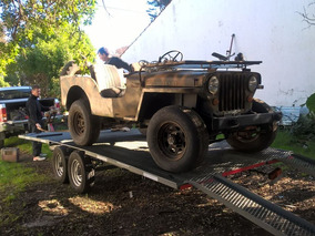 Jeep Willys 1947 4x4 Titular Todos Los Papeles