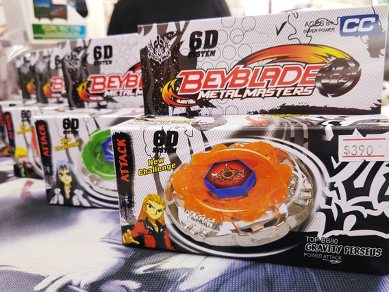 ¡trompo Beyblade Metal Master!