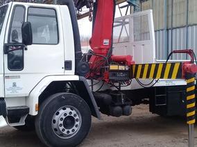 Ford Cargo1416 Con Hidrogrua Restaurada