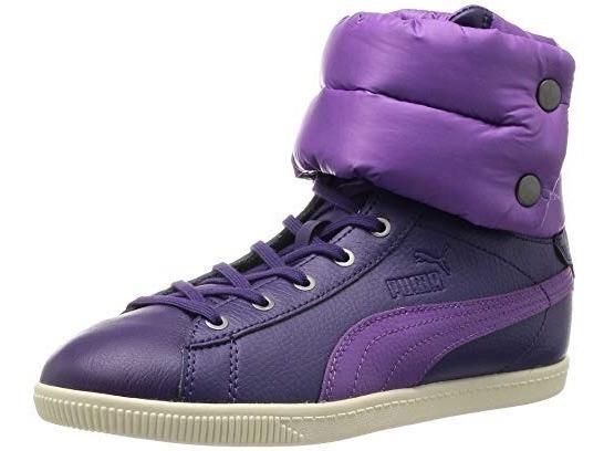 Calzado Botas Puma Dama Glyde Violeta Talles Del 36/41