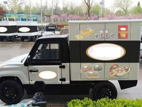 Auto Camioneta Pickman Pick Up 100% Eléctrica C/ Furgon