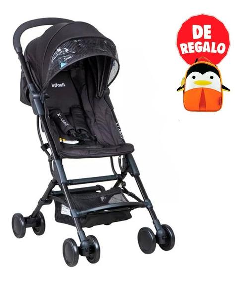 Coche Mochila Zippy De Lujo Negro Infanti + Regalo