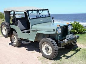 Jeep Willys 1948 Cj2a Impecable Restaurado