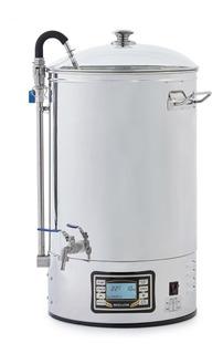 Fabrica Electrica Cerveza Artesanal Macerado Hervido Enfria