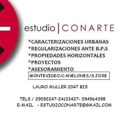 Regularizaciones, Caracterizacion Urbana,bps, Catastro, Imm