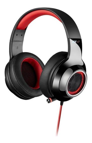 Auricular Edifier G4 Rojo Ideal Para Gamers !!