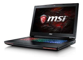 Notebook Msi Gamer I7 64gb 1tb Gtx1070 Bajo Pedido Netpc