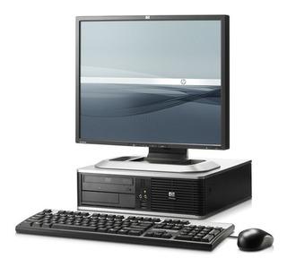 Pc Computadora Dual Core 4gb 160gb Completo Monitor 19 Wifi