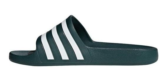 Calzado adidas Adilette Acuática Verde Oscuro Del 37 Al 47