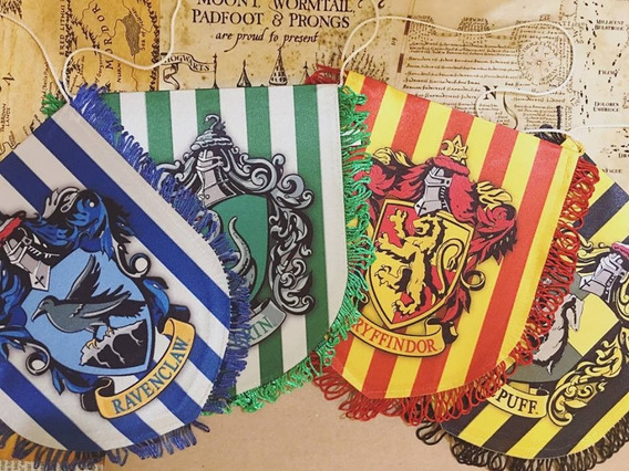 Punpunia - Banderines Harry Potter