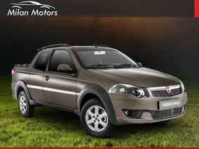Fiat Strada Trekking 0km Financio Con Usd 7900 Se La Lleva !