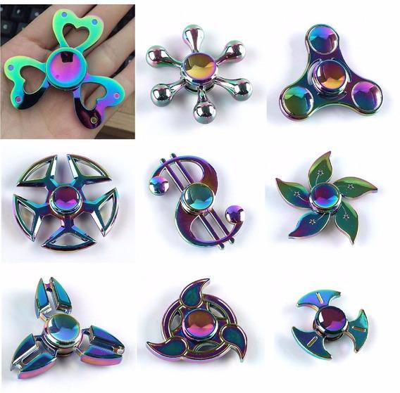 Spinners Metalicos Tornasol - Tornasolados - 9 Modelos