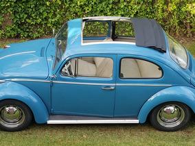 Volkswagen Convertible Techo Lona (ragtop) Impecable Al Día