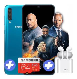 Samsung Galaxy A50 4 Ram 128 Gb ( 64 + 64sd ) + Auric Inala