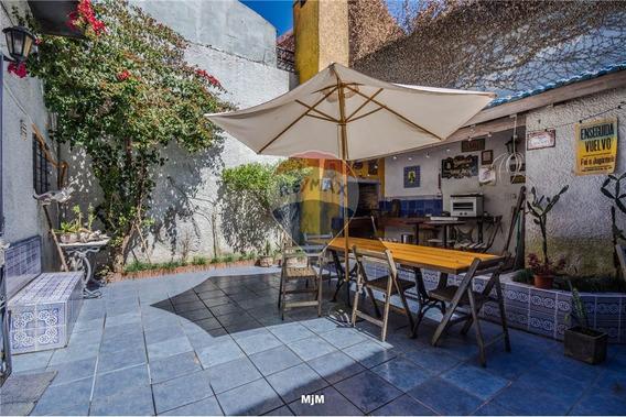 Casa, Punta Carretas, 4 Dormitorios, Garaje, Fondo