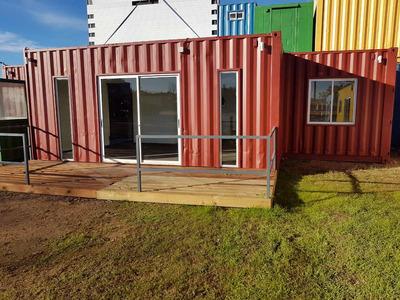 Casa Contenedor 45m2 De 2 Dormitorios U$s 16300 + Iva