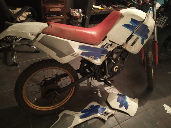 Enduro Rieju Con Motor Cg 125