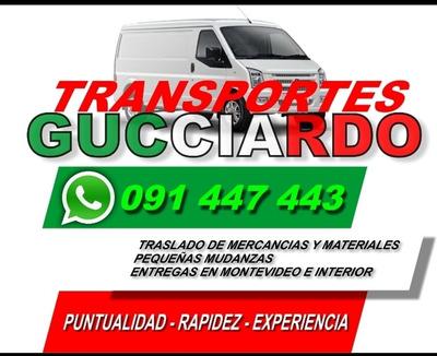 Fletes / Transportes Montevideo - Interior , Vehículo Nuevo