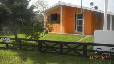3 Casas En Playa Alvorada Chui (brasil)