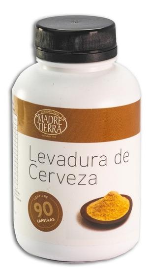 Levadura De Cerveza Madre Tierra 90 Capsulas