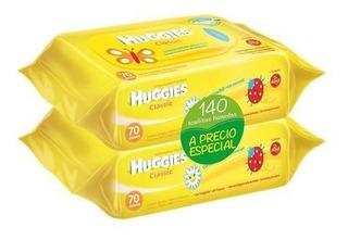 Huggies Toallitas Classic 140 - Bebés Y Niños