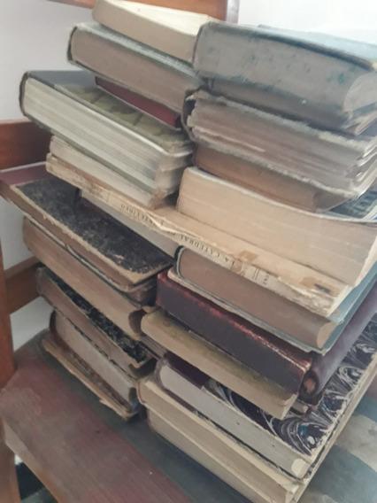 Lote De 21 Libros Antiguos, Del Año 1881 Al 1958