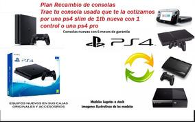 Plan Recambio Ps3, Xbox Wii Etc X Ps4 Consulte Por Su Plan