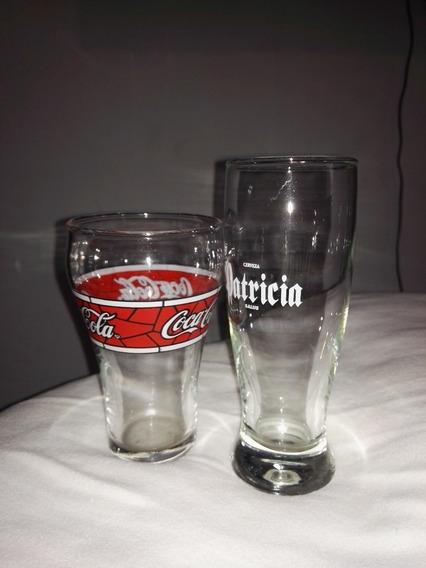 Vasos O Copas De Vidrio Logo Pintado A Fuego C/u $230