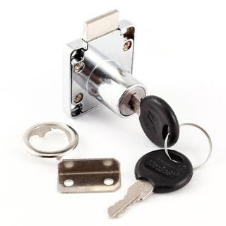 2pcs Cam Lock Pinball Arcade Máquina Puerta Gabinete Mostrar