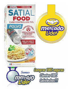 Satial Food Polvo Inhibidor De Carbohidratos,original
