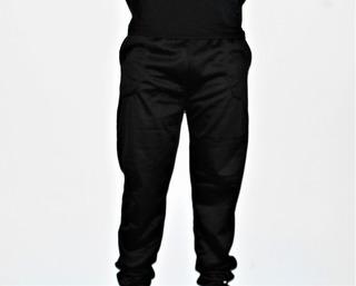 Pantalon Deportivo Hombre Con Felpa Negro - Todo Útil