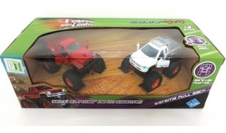 Velocidad Sin Limites Monster 4x4 Pull Back Jlt 6516