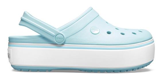 Crocs Crocband Platform Clog Ice Blue - Crocs Uruguay