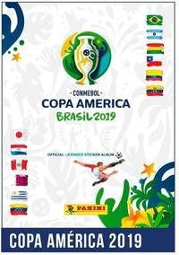 Album Figuritas Copa America Brasil 2019 Panini Completo