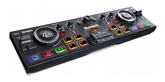 Controlador Dj Numark Dj2go2 Portátil Mixer Consola Placa