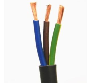 Cable Bajo Goma 3x2 Mm Negro - Precio Por Metro - Deltero