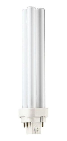 Lámpara Fluorescente Pl-c 4p, 26w, Cálida - Philips L24823