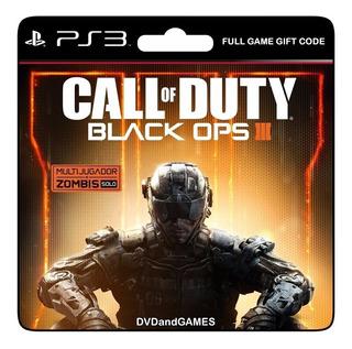 Call Of Duty Black Ops 3 + Black Ops 1 Ps3 Original Español