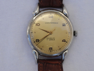 Reloj Girard-perregaux Cuerda Manual Impecable Año 1945