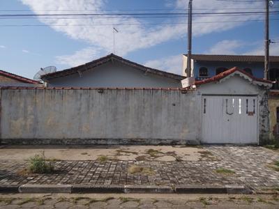 Casa Em Mongaguá Lado Praia!! 6152 L