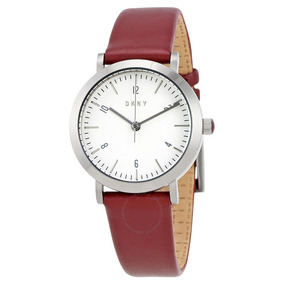 Reloj Dkny Leather Red Minetta